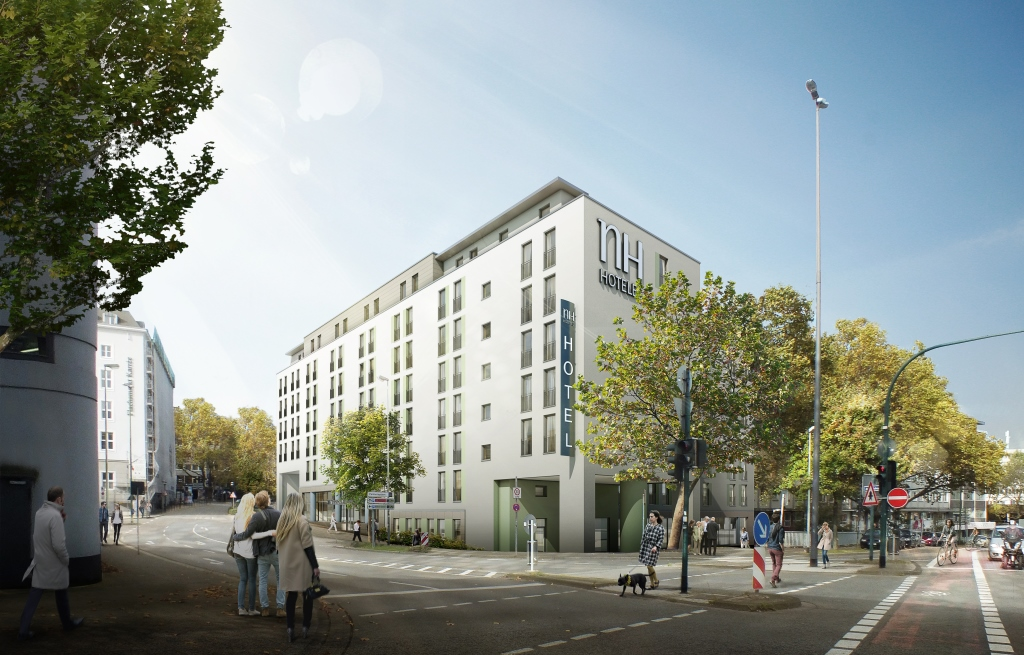 neues nh hotel in essen cost logis
